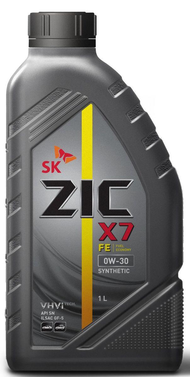 Масло моторное ZIC X7 FE, синтетическое, класс вязкости 0W-30, API SN, 1 л. 132616132616ZIC X7 FE - всесезонное синтетическое моторное масло высшего качества с повышенной топливной экономичностью и превосходными низкотемпературными свойствами. Изготовлено на основе базового масла YUBASE и сбалансированного пакета современных присадок с пониженным содержанием зольных соединений, фосфора и серы. Плотность при 15°C: 0,8416 г/см3.Температура вспышки: 230°С. Температура застывания: -45°С.Индекс вязкости: 178.