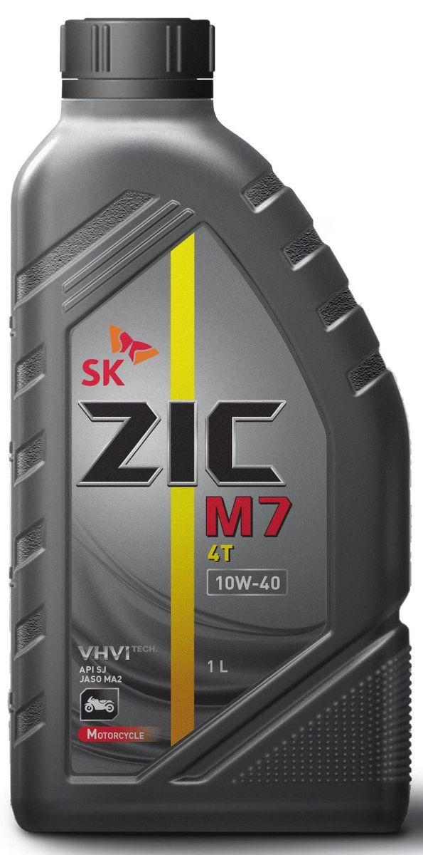 Масло моторное ZIC M7 4Т, синтетическое, класс вязкости 10W-40, API SL, 1 л. 137211137211Синтетическое моторное масло высшего класса ZIC M7 4Т предназначено для использования в 4-х тактных двигателях современной мотоциклетной техники. Синтетическая основа и комплекс присадок обеспечивают исключительную надежность работы двигателя в различных условиях эксплуатации, а также четкость работы сцепления в масляной ванне.