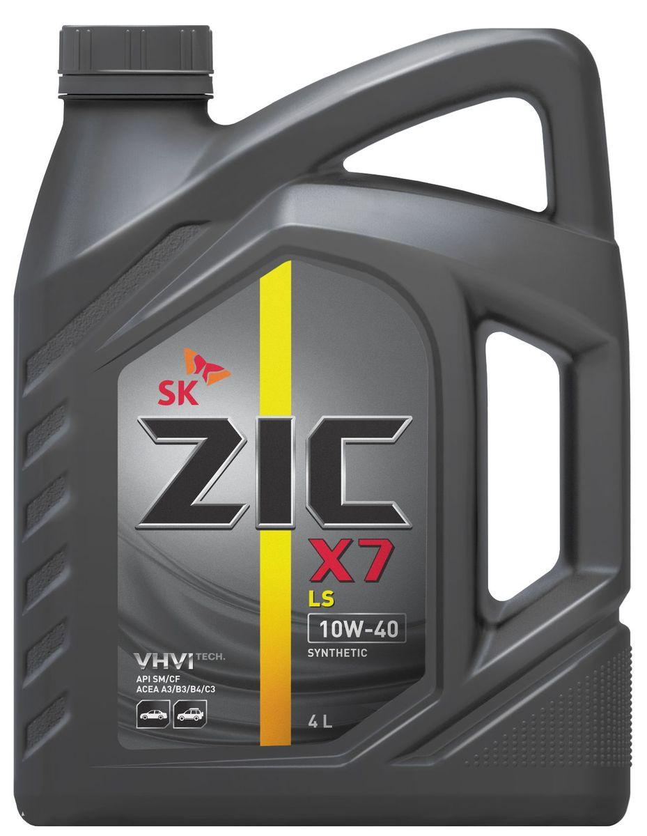 Масло моторное ZIC X7 LS, синтетическое, класс вязкости 10W-40, API SM/CF, 4 л. 162620162620ZIC X7 LS - всесезонное синтетическое моторное масло высшего качества. Изготовлено на основе базового масла YUBASE и сбалансированного пакета современных присадок с пониженным содержанием зольных соединений, фосфора и серы. Плотность при 15°C: 0,8483 г/см3.Температура вспышки: 236°С. Температура застывания: -37,5°С.Индекс вязкости: 167.