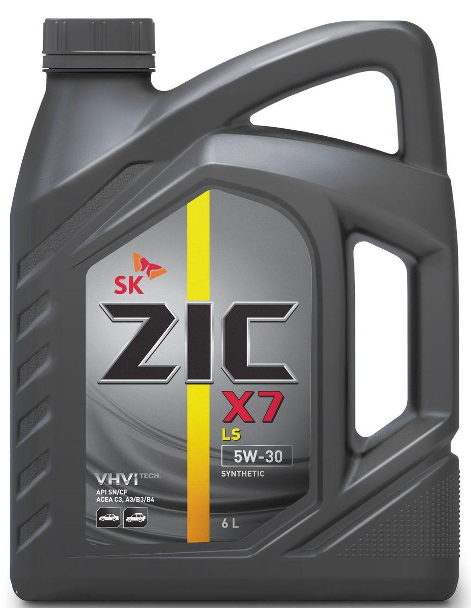 Масло моторное ZIC X7 LS, синтетическое, класс вязкости 5W-30, API SN/CF, 6 л. 172619172619ZIC X7 LS - всесезонное синтетическое моторное масло высшего качества. Изготовлено на основе базового масла YUBASE и сбалансированного пакета современных присадок с пониженным содержанием зольных соединений, фосфора и серы. Плотность при 15°C: 0,8495 г/см3.Температура вспышки: 230°С. Температура застывания: -42,5°С.Индекс вязкости: 171.