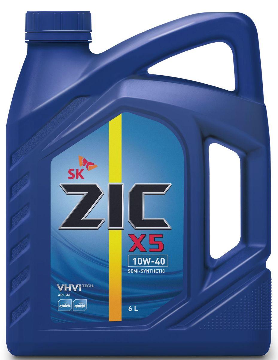 Масло моторное ZIC X5, полусинтетическое, класс вязкости 10W-40, API SM, 6 л. 172622172622Всесезонное полусинтетическое моторное масло ZIC X5 предназначено для бензиновых двигателей и обеспечивает надежную защиту. Изготовлено на основе базового масла YUBASE и сбалансированного пакета современных присадок. Плотность при 15°C: 0,8466 г/см3.Температура вспышки: 240°С. Температура застывания: -40°С.Индекс вязкости: 170.
