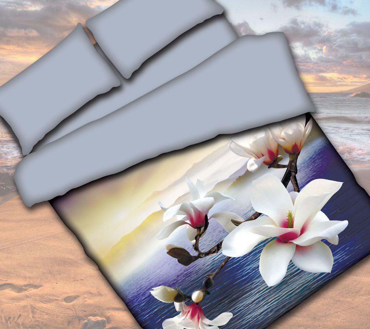 Комплект белья Коллекция Орхидея, 1,5-спальный, наволочки 50x70. СРП1,5/50/ОЗ/орхСРП1,5/50/ОЗ/орхКомплект постельного белья Коллекция прекрасно украсит любой интерьер. Выполнен из сатина. Сатин - это гладкая и прочная ткань, которая своим блеском, легкостью и гладкостью очень похожа на шелк. Ткань практически не мнется, поэтому его можно не гладить. Он практичен, так как хорошо переносит множественные стирки. Комплект включает в себя: простыню 160 х 224 см, пододеяльник 150 х 210 см,2 наволочки 50 х 70 см.