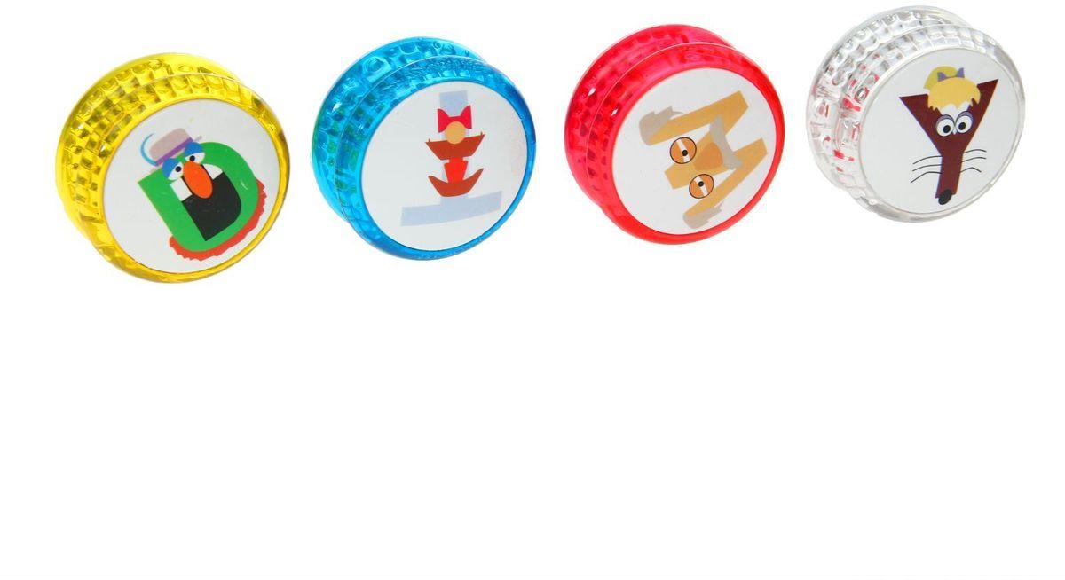 Sima-land Йо-йо Буквы 1143953 игрушка йо йо 1 toy на палец