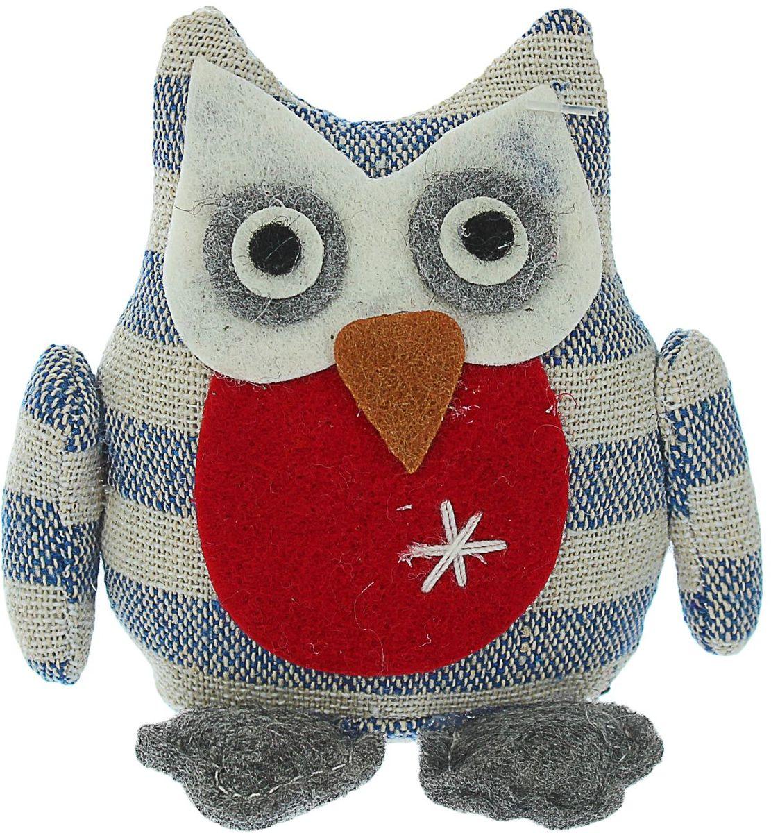 Sima-land Мягкая игрушка Сова 9 см