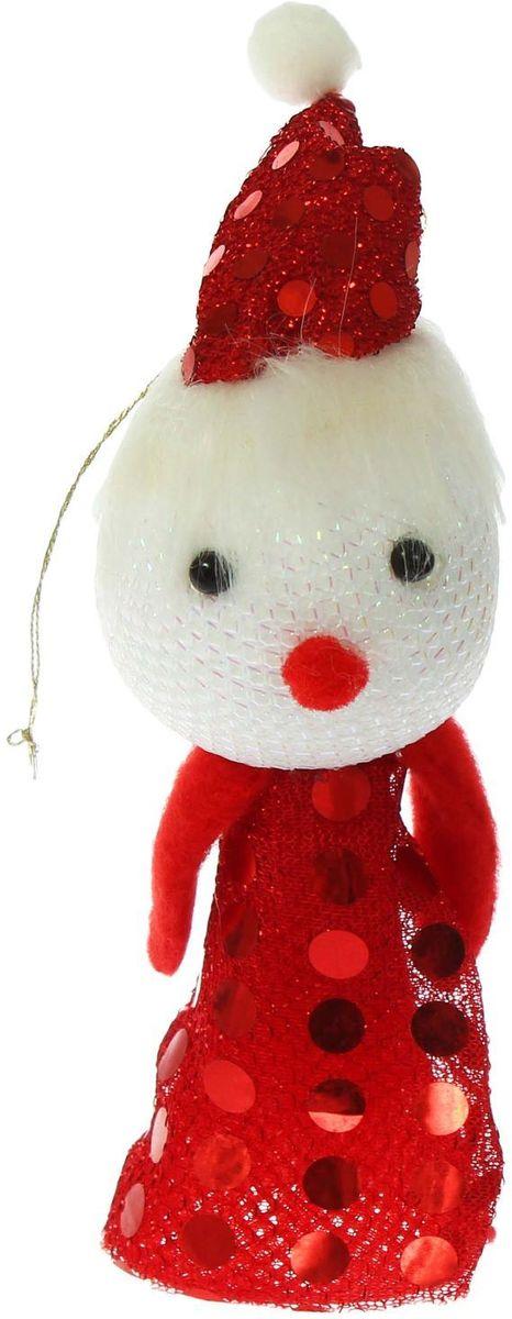 Sima-land Новогодняя игрушка-прыгун Снеговик