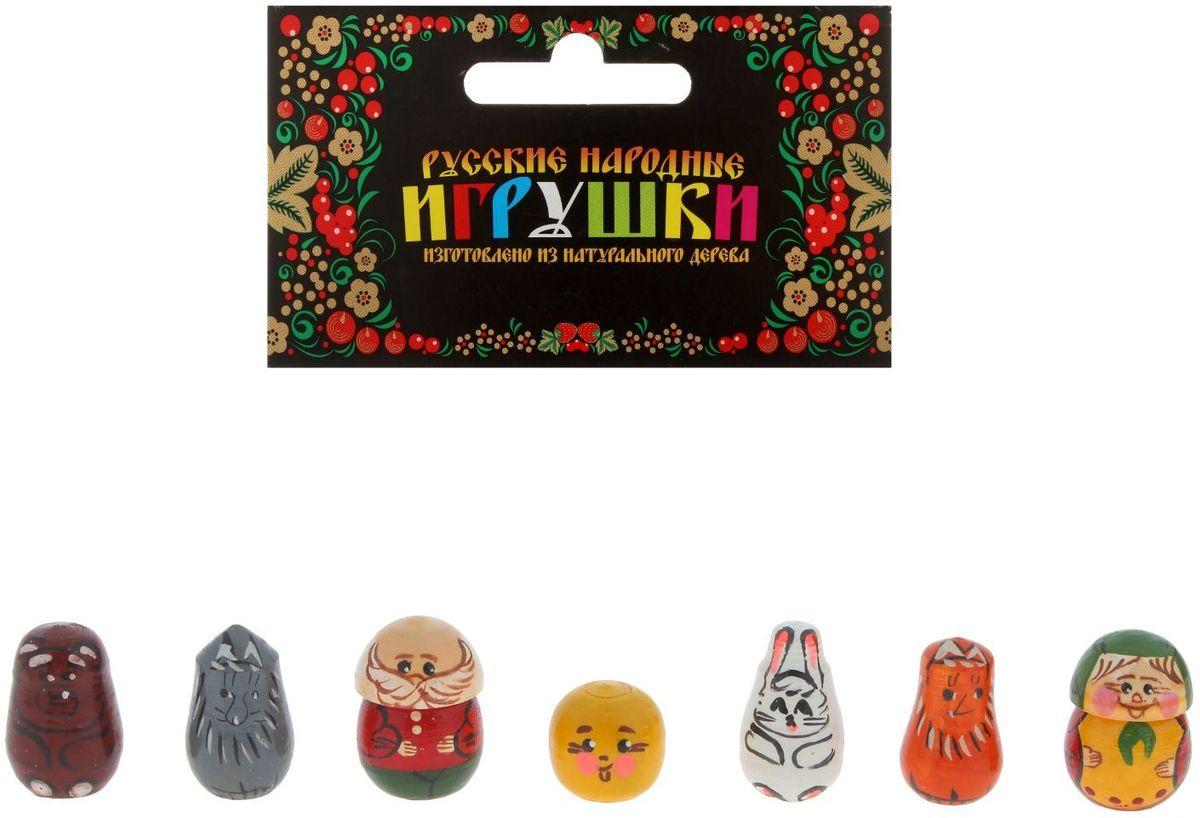 Sima-land Пальчиковый театр Колобок 1448134 дрофа медиа набор для изготовления игрушек пальчиковый театр зоопарк