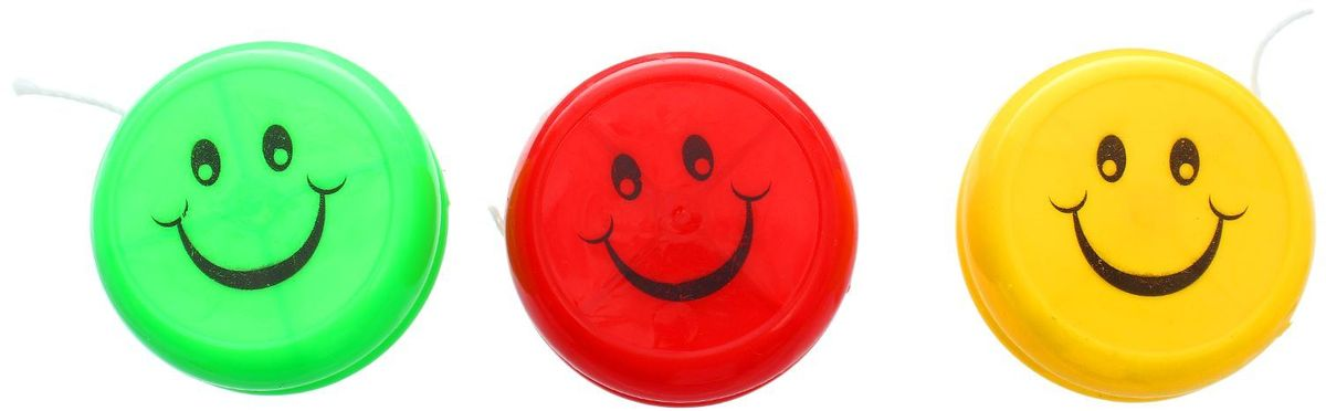 Sima-land Йо-йо Смайлик цвет в ассортименте 1638711 sima land антистрессовая игрушка спираль радуга улыбайся