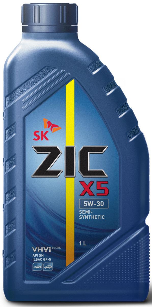 Масло моторное ZIC X5, полусинтетическое, класс вязкости 5W-30, API SN, 1 л132621Всесезонное полусинтетическое моторное масло ZIC X5 предназначено для бензиновых двигателей и изготовлено на основе базового масла YUBASE и сбалансированного пакета современных присадок. Оно обеспечивает надежную защиту.Плотность при 15°C: 0,8467 г/см3Температура вспышки: 230°С Температура застывания: -42,5°СИндекс вязкости: 170.