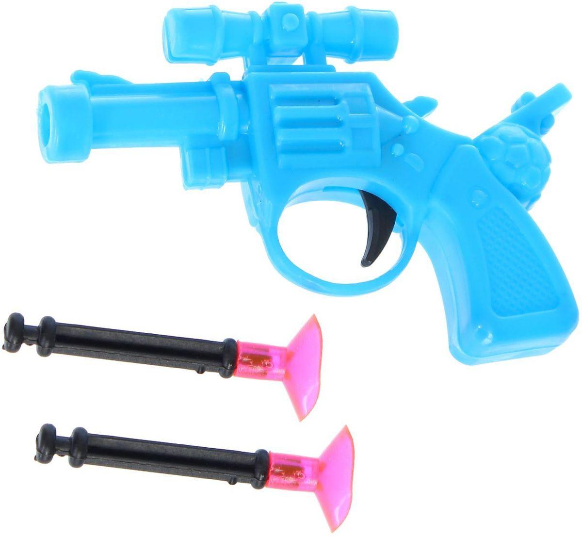 Sima-land Стрелялка Пистолет 1660815, Развлекательные игрушки  - купить со скидкой