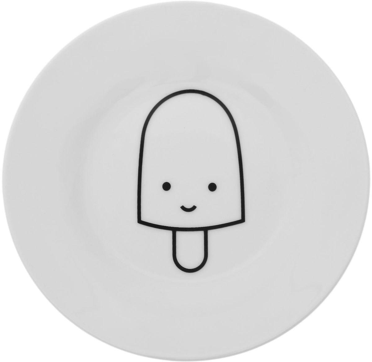 Тарелка мелкая Сотвори чудо My Little Ice Cream, диаметр 15,5 см1661822Хотите обновить интерьер кухни или гостиной? Устраиваете необычную фотосессию или тематический праздник? А может, просто ищете подарок для близкого человека? Посуда Сотвори Чудо — правильный выбор в любой ситуации. Тарелка Сотвори Чудо, изготовленная из изящного фаянса нежного сливочного цвета, оформлена оригинальным рисунком со стойкой краской. Пригодна для посудомоечной машины.