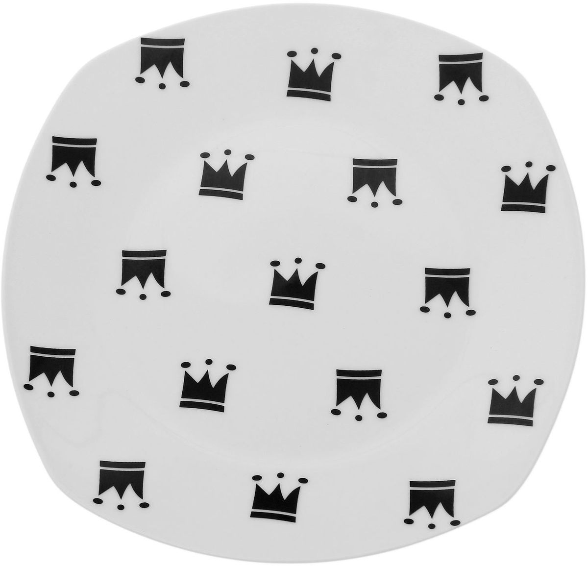 Тарелка Сотвори чудо My Little Crown, 20 х 20 см1661842Хотите обновить интерьер кухни или гостиной? Устраиваете необычную фотосессию или тематический праздник? А может, просто ищете подарок для близкого человека? Посуда Сотвори Чудо — правильный выбор в любой ситуации. Тарелка Сотвори Чудо, изготовленная из изящного фаянса нежного сливочного цвета, оформлена оригинальным рисунком со стойкой краской. Пригодна для посудомоечной машины.