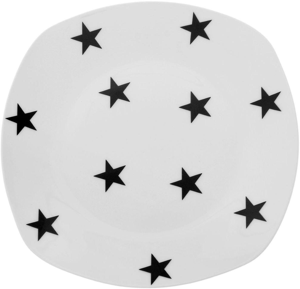Тарелка Сотвори чудо My Little Star, 20 х 20 см1661843Хотите обновить интерьер кухни или гостиной? Устраиваете необычную фотосессию или тематический праздник? А может, просто ищете подарок для близкого человека? Посуда Сотвори Чудо — правильный выбор в любой ситуации. Тарелка Сотвори Чудо, изготовленная из изящного фаянса нежного сливочного цвета, оформлена оригинальным рисунком со стойкой краской. Пригодна для посудомоечной машины.