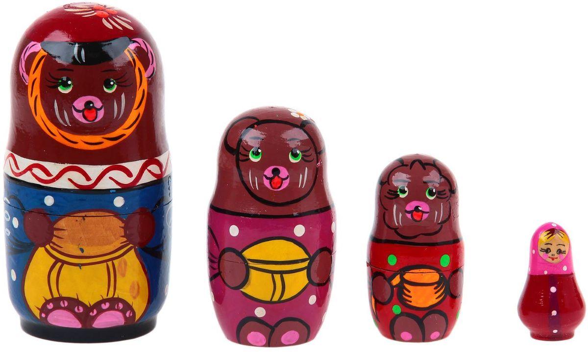 купить Sima-land Матрешка-сказка Три Медведя 1776017 по цене 739 рублей