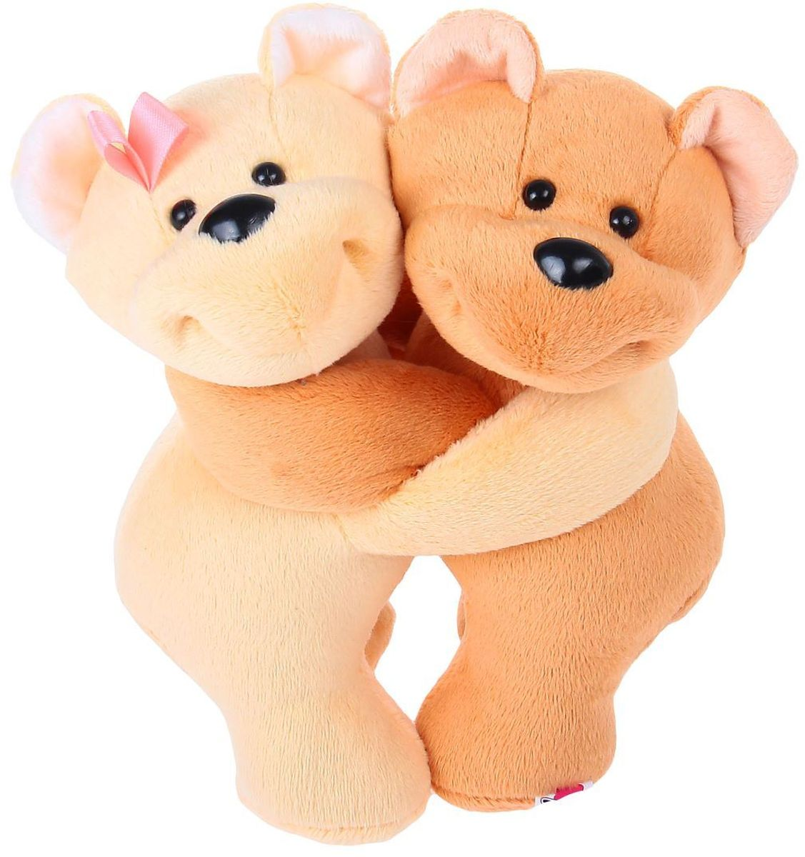 Мальвина Мягкая игрушка Мишки Валентинки 22 см 2061648, Мягкие игрушки  - купить со скидкой