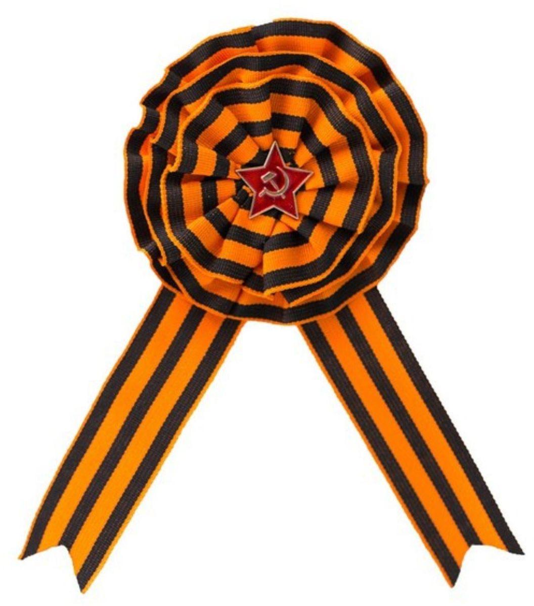 Брошь Бока 9 Мая. 22275972227597Чёрно-оранжевая лента — неизменный атрибут Дня Победы. Такое сочетание цветов использовалось для высших воинских наград, вручаемых за личную храбрость. 9 Мая прикрепите брошь на одежду: этот символ на вашей груди напомнит о доблести солдат и подвигах, совершённых на полях сражений. Такой аксессуар прослужит вам не один год.Брошь на булавке.