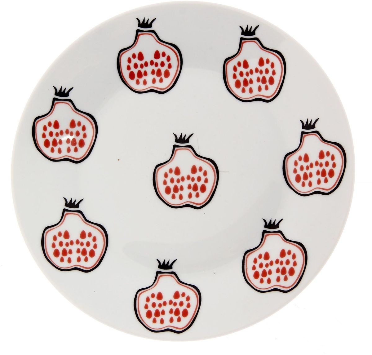 Тарелка мелкая Сотвори чудо Гранат, диаметр 20 см тарелка мелкая сотвори чудо полярный мишка диаметр 20 см