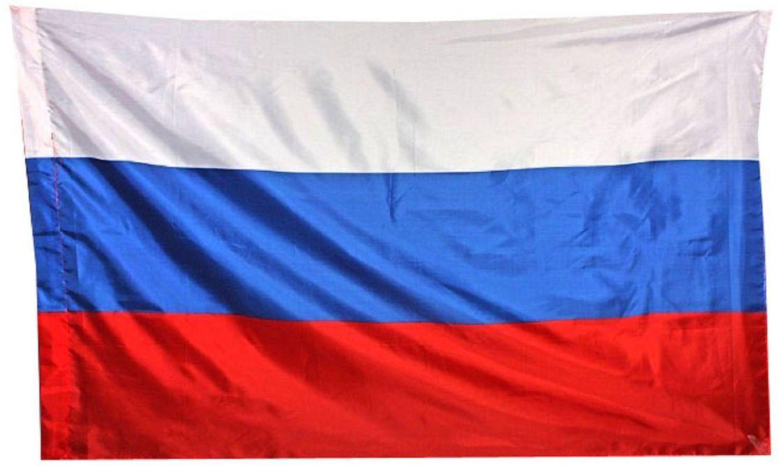 Флаг Sima-land Россия, 60 х 90 см флаг ratel пограничные войска россии двухсторонний 90 х 135 см