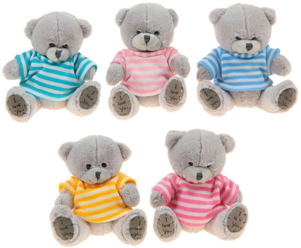 Sima-land Мягкая игрушка Медведь в футболке 316732 sima land мягкая игрушка курочка с висячими лапками 1047977