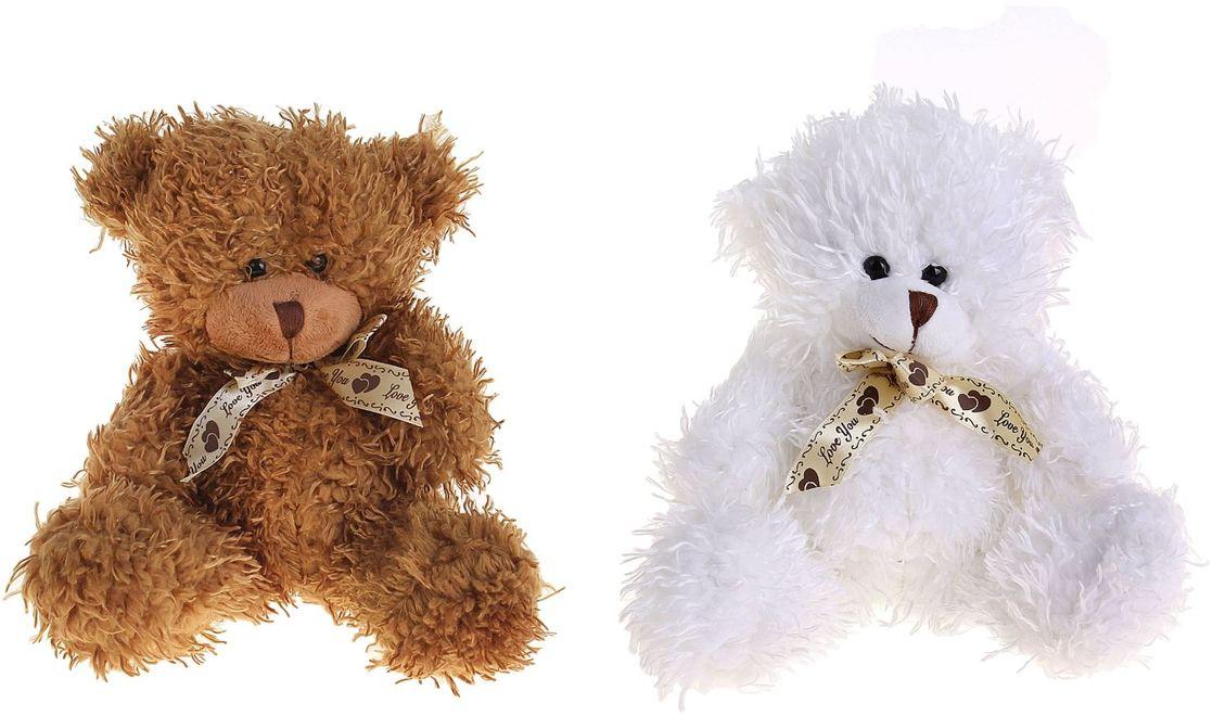 Sima-land Мягкая игрушка Любимый мишутка с бантом 326066 sima land мягкая игрушка на руку мальчик 1147835