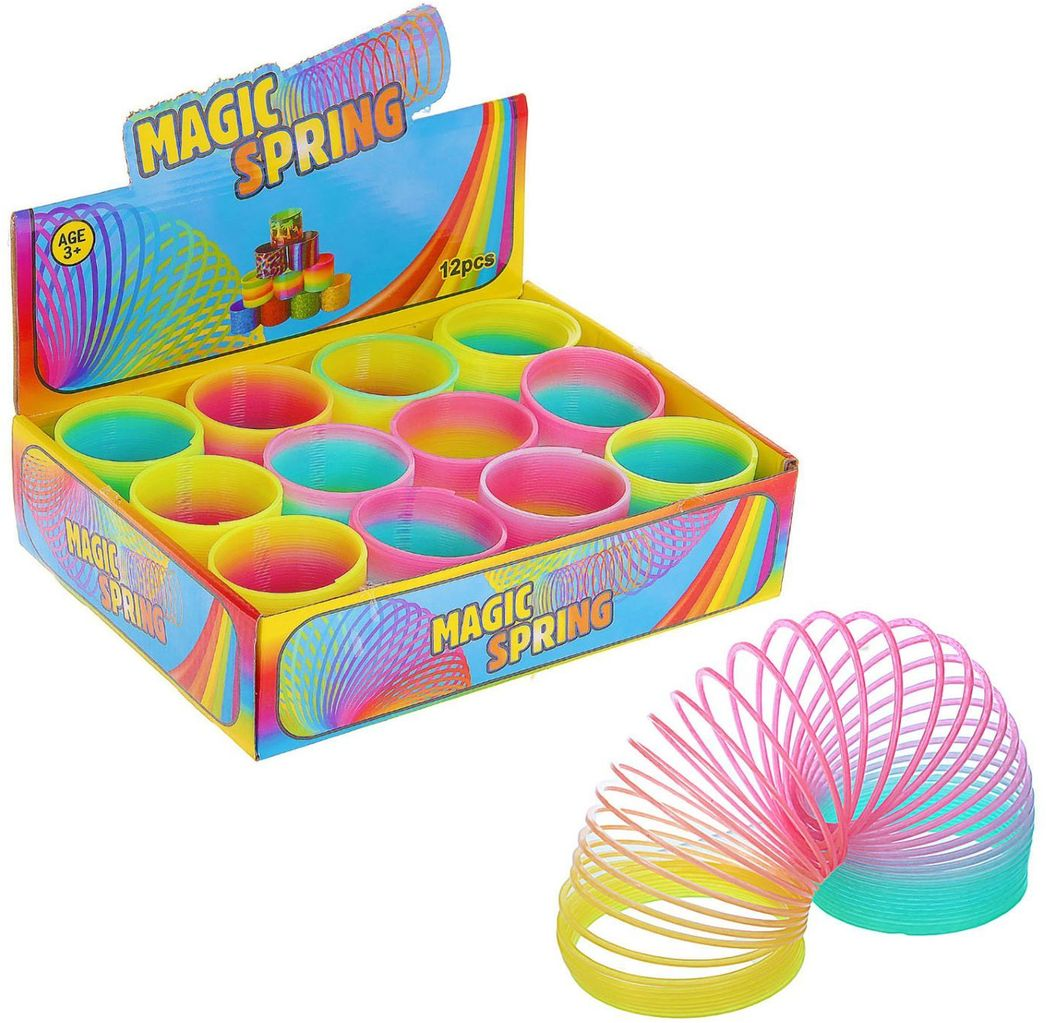 Sima-land Антистрессовая игрушка Пружинка Радуга 6,5 х 6,5 х 6,5 см 326182