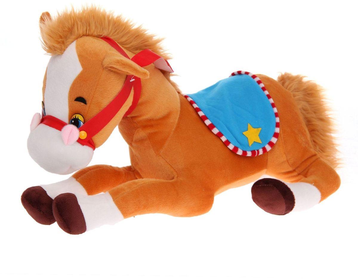 Sima-land Мягкая игрушка Лошадь-ковбой 327097 sima land мягкая игрушка на руку мальчик 1147835