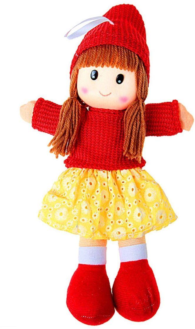 Sima-land Мягкая кукла в шапке 327437 sima land мягкая игрушка зайка ми в шапке с сердечком цвет голубой 15 см 871962