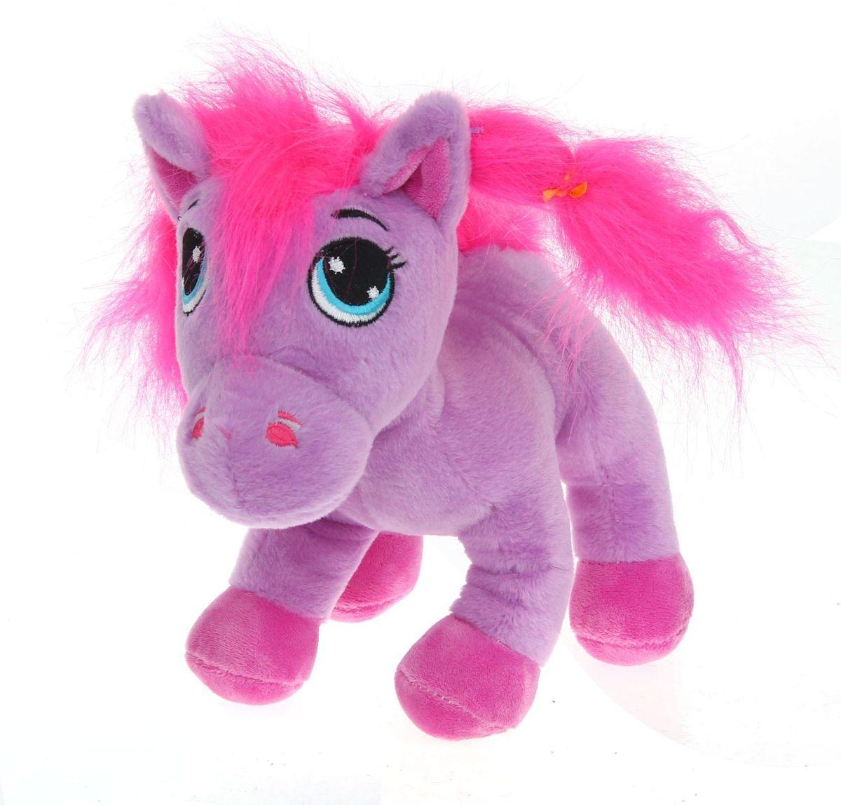 Sima-land Мягкая игрушка Лошадь с вышитыми глазками 327518 sima land мягкая игрушка на руку мальчик 1147835