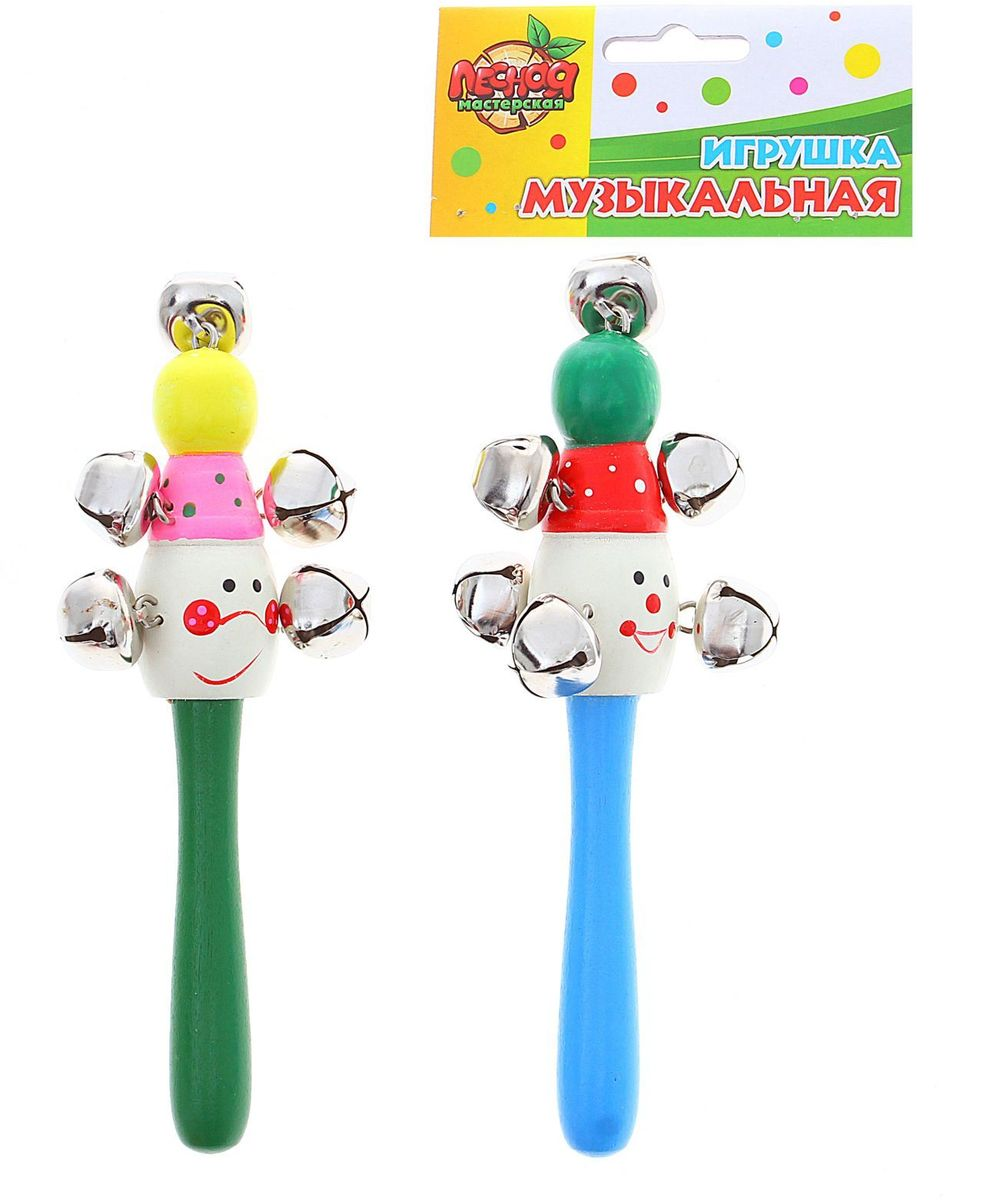 Sima-land Погремушка Клоун с бубенцами 424218 погремушки стеллар клоун