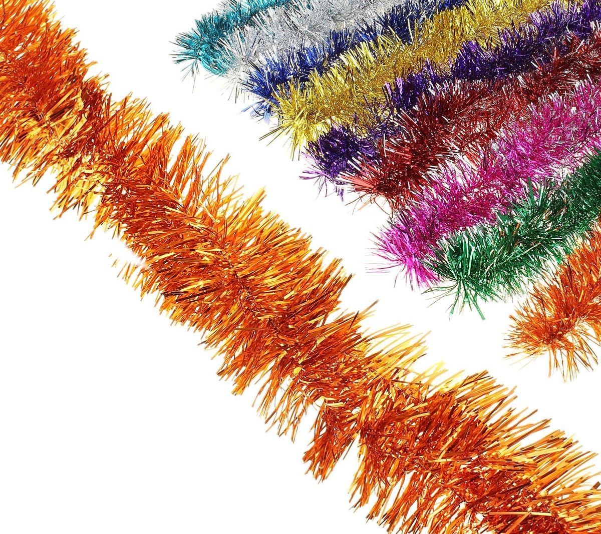 Мишура новогодняя Sima-land, цвет: красный, серебристый, диаметр 4 см, длина 1,3 м. 701305701305_красный, серебристыйМишура новогодняя Sima-land, выполненная из двухцветной фольги, поможет вам украсить свой дом к предстоящим праздникам. Мишура армирована, то есть имеет проволоку внутри и способна сохранять приданную ей форму.Новогодняя елка с таким украшением станет еще наряднее. Новогодней мишурой можно украсить все, что угодно - елку, квартиру, дачу, офис - как внутри, так и снаружи. Можно сложить новогодние поздравления, буквы и цифры, мишурой можно украсить и дополнить гирлянды, можно выделить дверные колонны, оплести дверные проемы. Коллекция декоративных украшений из серии Зимнее волшебство принесет в ваш дом ни с чем несравнимое ощущение праздника! Создайте в своем доме атмосферу тепла, веселья и радости, украшая его всей семьей.