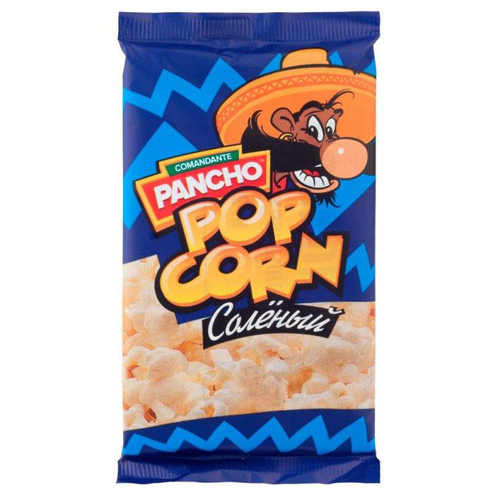 Команданте Панчо Соленый попкорн для микроволновой печи, 65 г