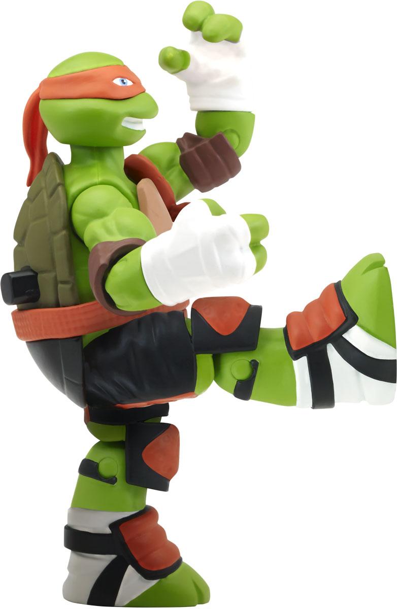 черепашки ниндзя измерение х фигурка функциональная донателло Черепашки Ниндзя Фигурка функциональная Удар ниндзя Майки