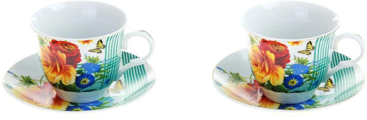 Набор чайный Доляна Мари, 4 предмета стеллар детская посуда чайный набор