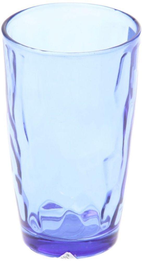 Стакан Доляна Венский вальс, цвет: синий, 340 мл335155Стеклянные изделия серии «Венский вальс» подходят для повседневного использования. Стакан из стекла, окрашенного в яркий цвет методом напыления, порадует каждого ценителя оригинальности.Достоинства:оригинальный дизайн делает предметы украшением интерьера;материал не впитывает запахов;поверхность легко отмывается.Чтобы предметы радовали внешним видом как можно дольше, соблюдайте правила ухода:мойте только вручную;избегайте использования высокоабразивных средств и металлических губок;не допускайте падений и ударов.Окружайте себя красивой посудой и будьте в хорошем настроении!
