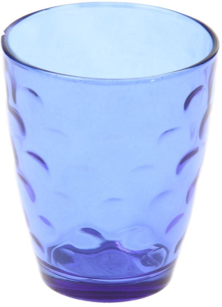 Стакан Доляна Венский вальс, цвет: синий, 400 мл335171Стеклянные изделия серии «Венский вальс» подходят для повседневного использования. Стакан из стекла, окрашенного в яркий цвет методом напыления, порадует каждого ценителя оригинальности.Достоинства:оригинальный дизайн делает предметы украшением интерьера;материал не впитывает запахов;поверхность легко отмывается.Чтобы предметы радовали внешним видом как можно дольше, соблюдайте правила ухода:мойте только вручную;избегайте использования высокоабразивных средств и металлических губок;не допускайте падений и ударов.Окружайте себя красивой посудой и будьте в хорошем настроении!