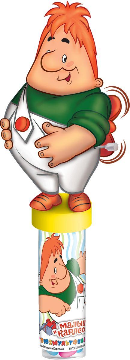 Союзмультфильм фруктовый мармелад с игрушкой, 20 гУТ16383Пластиковая туба с игрушкой в виде героев Союзмультфильма. В самой тубе мармелад в сахарной глазури 20 г россыпью.УВАЖАЕМЫЕ КЛИЕНТЫ! Товар поставляется в цветовом ассортименте. Поставка осуществляется в зависимости от наличия на складе.