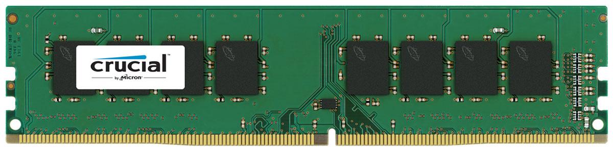 Crucial ECC Reg Dual Rank DDR4 16GB 2400МГц модуль оперативной памятиCT16G4RFD424AМодуль оперативной памяти Crucial CT16G4RFD424A прекрасно подойдет для серверов, которые нуждаются в оперативной памяти с высокой производительностью. По сравнению с DDR3, оперативная память DDR4 предлагает удвоенную пропускную способность, при этом потребляя меньше питания (1.2 В). Crucial CT16G4RFD424A совместима с процессорами Intel семейства Xeon Е3-1200 V3 и е5-2600 V3.DDR4 обеспечивает повышенную производительность, увеличенную емкость DIMM, улучшенную целостность данных и пониженное энергопотребление.В дополнение к оптимизированной производительности и более низкому энергопотреблению DDR4 также выполняет циклические проверки с избыточностью (CRC) для обеспечения повышенной надежности хранения данных, имеет встроенную функцию контроля нарушения четности для проверки целостности передачи команд и адресов, обеспечивает повышенную целостность сигнала и другие функции RAS.