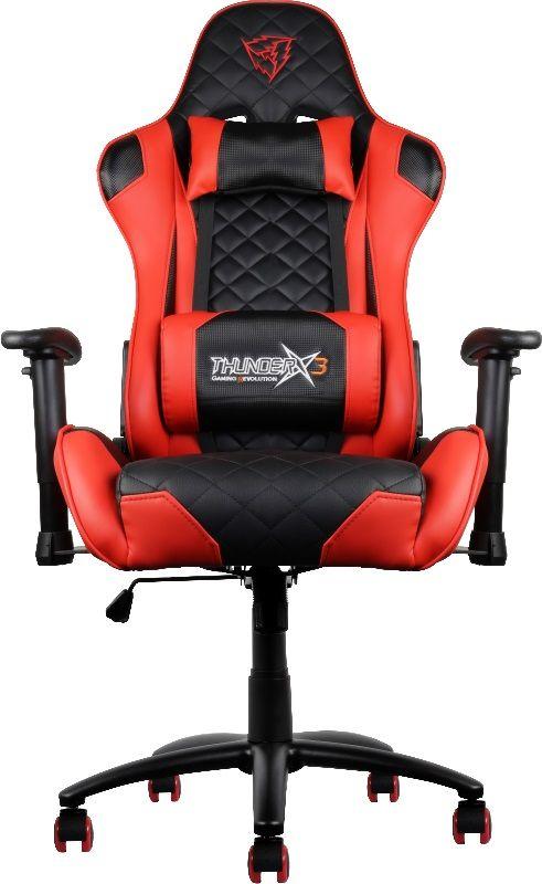 ThunderX3 TX3-12, Black Red профессиональное геймерское кресло - Игровые кресла