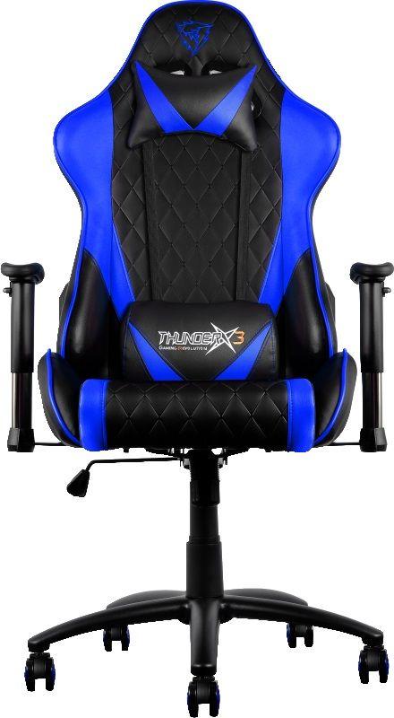 ThunderX3 TX3-15, Black Blue профессиональное геймерское кресло - Игровые кресла