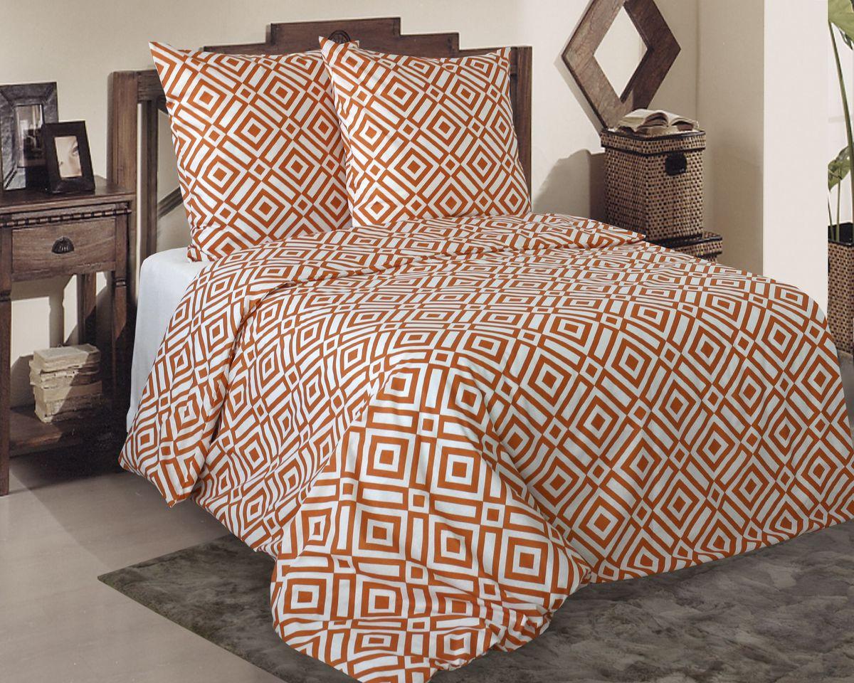 Комплект белья Коллекция Ромбы, 2-спальный, наволочки 70x70