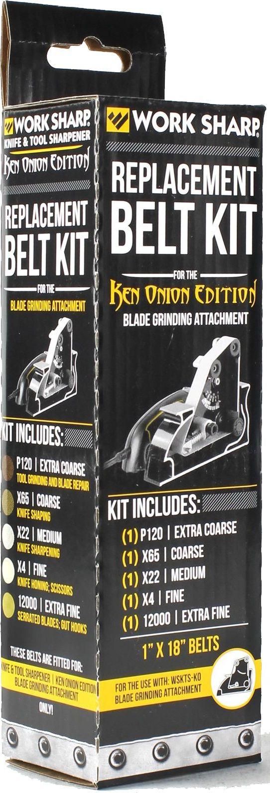 Набор ремней абразивных Work Sharp, с насадкой, для электроточилки Work Sharp Knife & Tool Sharpener Ken Onion Edition