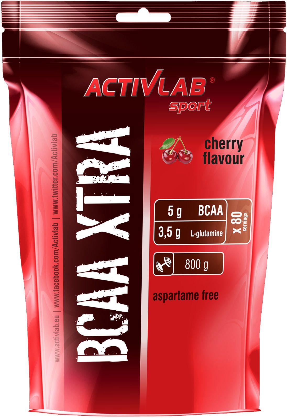 Аминокислоты Activlab BCAA Xtra, вишня, 800 г105241Activlab BCAA Xtra - это аминокислоты BCAA в порошковой форме. Незаменимая добавка, какпри наборе мышечной массы, так и при похудении (сушке). Положительные эффекты: -Ликвидация мышечного катаболизма. - Увеличение количества миофибрилл (гипертрофиямышечных волокон), при условии тренинга. - Уменьшение процента подкожного жира. -Увеличение силовых показателей. - Повышение выносливости, что особенно заметно впоследних повторениях. - Уменьшение порога критической закисляемости мышц лактатом. - Увеличивает процент усвояемости другого спортивного питания при совместном приеме. - Укрепляет структуру ЦНС.Activlab BCAA Xtra ведет к синтезу инсулина, то есть кулучшению усвоения тех или иных микро- и макронутриентов. При комбинированном приеме сдругим спортивным питанием, данная добавка оказывает синергический эффект.Применение: Activlab BCAA Xtra рекомендуется употреблять 2-3 раза в тренировочные дни по 10грамм за прием. Наиболее рационально использовать 1 порцию за 20-30 минут до тренинга и еще1 порцию сразу после, ну а третью можно принять непосредственно во время тренинга. Впроцессе отдыха достаточно будет одной порции сразу после пробуждения. Смешивайтесодержимое добавки в 250 мл воды.Состав (на 1 порцию – 10 г – 2 чайные ложки):энергетическая ценность – 30 ккал, белки – 7.6 г, углеводы – 0 г, жиры – 0 г, глютамин – 3.5 г,лейцин – 2.5 г, валин – 1.25 г, изолейцин – 1.25 г. Ингредиенты: L-глютамин, L-лейцин, L-валин, L-изолейцин, регулятор кислотности, цитрат натрия, ацесульфам калия, краситель E104,краситель E110, пищевой азокраситель E124. Товар сертифицирован.Уважаемые клиенты! Обращаем ваше внимание на то, что упаковка может иметь несколько видов дизайна. Поставка осуществляется в зависимости от наличия на складе.Как повысить эффективность тренировок с помощью спортивного питания? Статья OZON Гид
