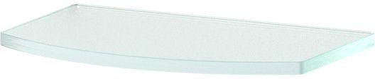Полка для ванной Ellux, 20 см, для ELE 032, цвет: матовое стекло. ELU 009