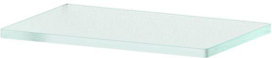 Полка для ванной Ellux, 20 см, для AVA 032, цвет: матовое стекло. ELU 010