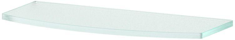 """Полка для ванной """"Ellux"""", 30 см, для ELE 033, цвет: матовое стекло. ELU 011"""