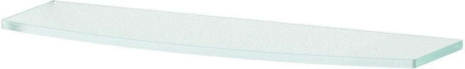 """Полка для ванной """"Ellux"""", 40 см, для ELE 033, цвет: матовое стекло. ELU 013"""