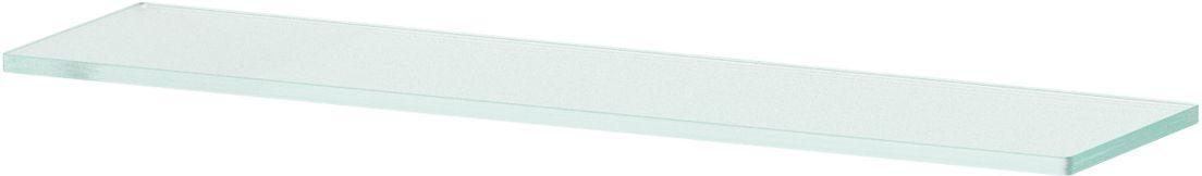 Полка для ванной Ellux, 50 см, для AVA 033, цвет: матовое стекло. ELU 016ELU 016Аксессуары торговой марки Ellux производятся на заводе ELLUX Gluck s.r.o., имеющем 20-летний опыт работы. Предприятие расположено в Злинском крае, исторически знаменитом своим промышленным потенциалом. Компоненты из всемирно известного богемского хрусталя выгодно дополняют серии аксессуаров. Широкий ассортимент, разнообразие форм, высочайшее качество исполнения и техническое?совершенство продукции отвечают самым высоким требованиям. Продукция завода Ellux представлена на российском рынке уже более 10 лет и за это время успела завоевать заслуженную популярность у покупателей, отдающих предпочтение дорогой и качественной продукции.100% made in Czech Republic Весь цикл производства изделий осуществляется на территории Чешской республики.В производстве полок используется высококачественное матированное стекло марки Satinovo Mate Clear.Saint-Gobain Glass признанный мировой лидер в производстве высококачественного стекла, поэтому для производства стеклянных полок применяется матовое стекло «Satinovo Mate Clear» 8 мм именно этого производителя.Стеклянные полки производятся из высококачественного матового стекла 8 мм «Satinovo Mate Clear» завода Saint-Gobain Glass Deutschland GMBH. Остальные стеклянные компоненты изготовлены из богемского хрусталя фабрики Crystal Bohemia, a.s.Варианты комплектации. Покупателям предоставляется возможность выбирать хрустальные компоненты (стакан, мыльница, дозатор жидкого мыла) в матовом и прозрачном исполнении. Обратите внимание, что хрустальные колбы туалетного ерша и стеклянные полки предлагаются только в матовом исполнении.Проверенное временем качество продукции завода ELLUX Gluck s.r.o. позволяет производителю гарантировать длительный срок ее эксплуатации. Премиум качество. Находясь в более доступном ценовом сегменте, аксессуары торговой марки ELLUX обладают всеми качествами продукции PREMIUMПроизведено в Чехии. Завод ELLUX Gluck s.r.o. — единственный произво