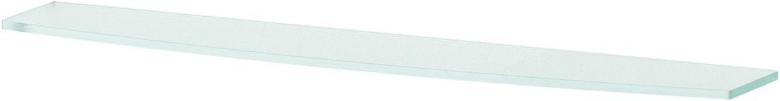 Полка для ванной Ellux, 70 см, для ELE 033, цвет: матовое стекло. ELU 019