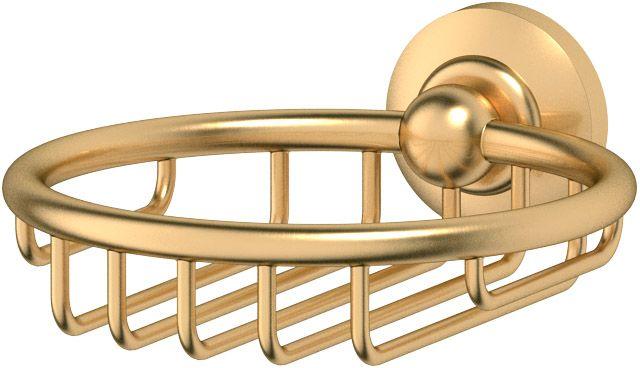 Мыльница-решетка 3SC Stilmar, цвет: матовое золото. STI 306STI 306Дизайн коллекций компании 3SC оригинален и узнаваем. Цель дизайнеров — находить равновесие между эстетикой и функциональностью. Это обдуманная четкая философия, которая проходит через все процессы производства мастерской региона Тоскана.Многолетний опыт, воплощение социальных и культурных традиций, а также постоянный поиск новых решений?– все это сконцентрировано в коллекциях 3SC. Особенное внимание уделяется декоративной отделке изделий, которая выполнена умелыми руками настоящих итальянских мастеров. Разнообразие стилей позволяет удовлетворить различные вкусы клиента от «классики» до «хай-тек», давая возможность гармонично сочетать аксессуары с зеркалами и освещением.