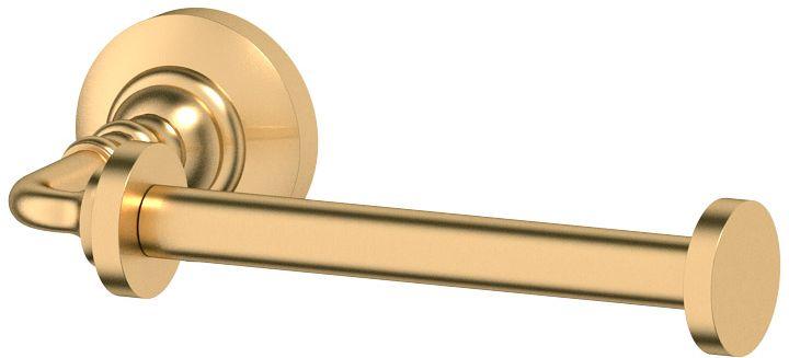 Держатель туалетной бумаги 3SC Stilmar, цвет: матовое золото, STI 321STI 321Дизайн коллекций компании 3SC оригинален и узнаваем. Цель дизайнеров - находить равновесие между эстетикой и функциональностью. Это обдуманная четкая философия, которая проходит через все процессы производства мастерской региона Тоскана. Многолетний опыт, воплощение социальных и культурных традиций, а также постоянный поиск новых решений?- все это сконцентрировано в коллекциях 3SC. Особенное внимание уделяется декоративной отделке изделий, которая выполнена умелыми руками настоящих итальянских мастеров. Разнообразие стилей позволяет удовлетворить различные вкусы клиента от «классики» до «хай-тек», давая возможность гармонично сочетать аксессуары с зеркалами и освещением.