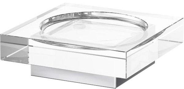 Мыльница для ванной Lineag Tiffany Un, настольная, цвет: хром. TIF 017TIF 017В течение 20 лет компания Lineag разрабатывает и производит эксклюзивные аксессуары для ванной комнаты, используя современные технологии и высококачественные материалы. Каждый продукт Lineag произведен исключительно в Италии. Изысканный дизайн аксессуаров Lineag создает уникальную атмосферу уюта и роскоши в вашей ванной.